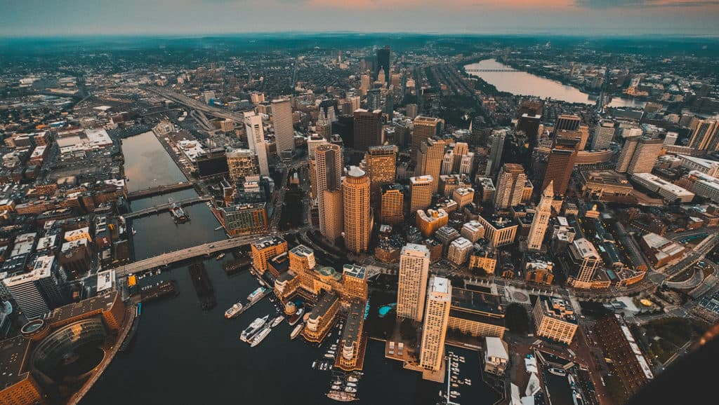 An image of Boston