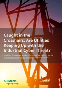 Image of the Siemens Report about the current state of cyber security of the electricity grid